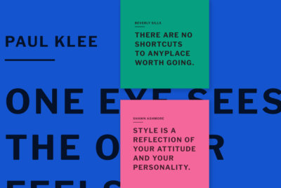 Color Quotes Design Templates in social media post style