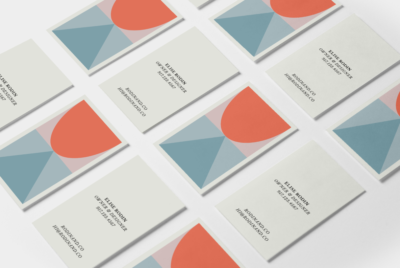 geo business card kit