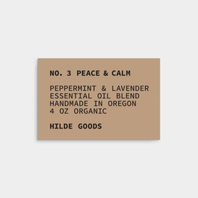 minimal vintage label design template 3x2