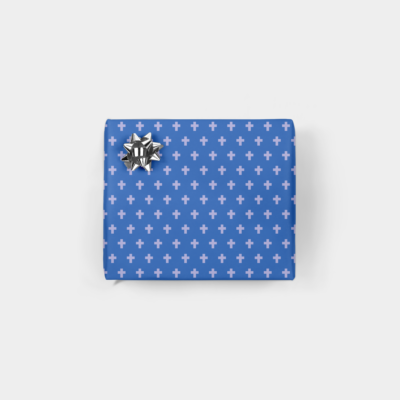 minimalist holiday gift wrap