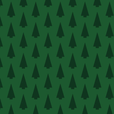 minimalist holiday trees gift wrap