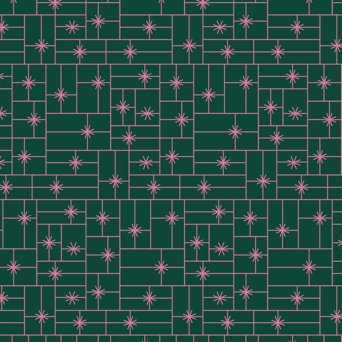 gift grid holiday wrapping paper