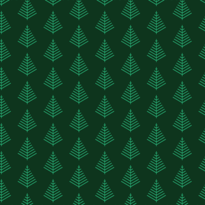 minimalist trees holiday gift wrap