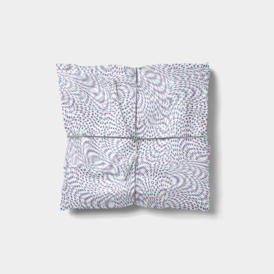 artistic dots gift wrap