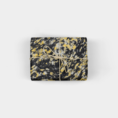 wood abstractions gift wrap