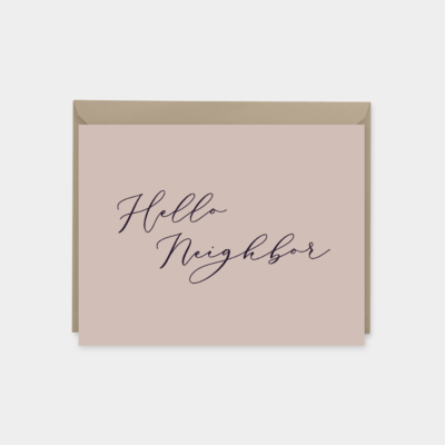 hello neighbor greeting covid 19 sympathy card