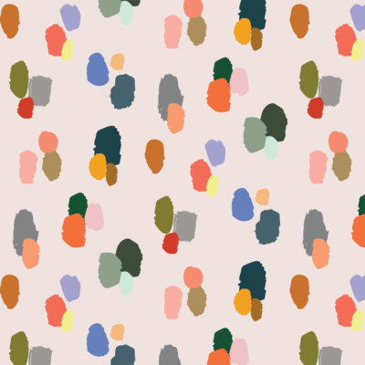 multicolored leopard print wrapping paper