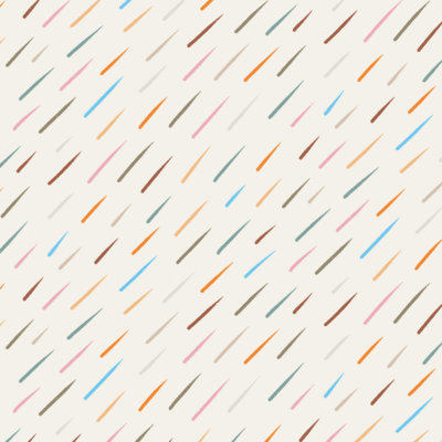 colorful raindrop pattern gift wrap