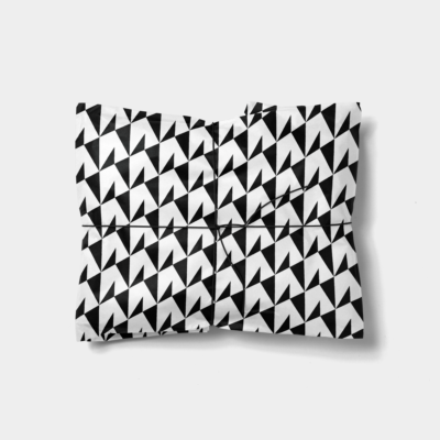 geo shapes gift wrap