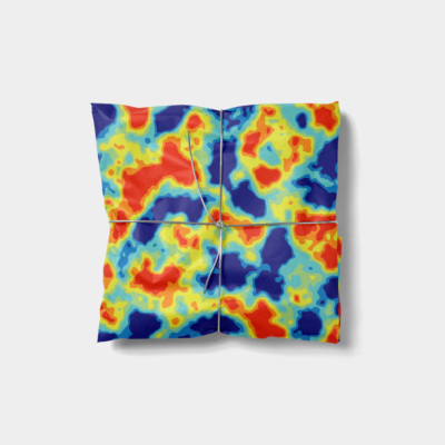 heat map gift wrap