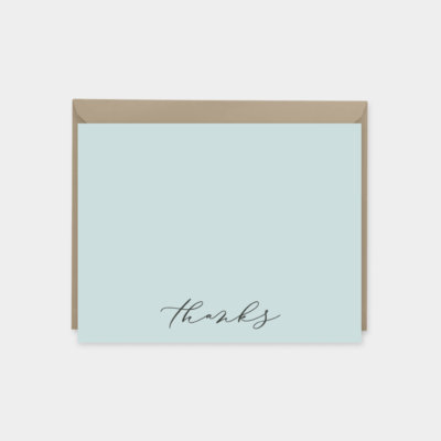 stylish personalized note cards