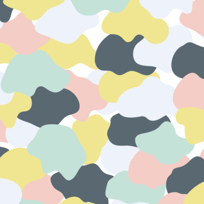 pop colors camouflage wrapping paper