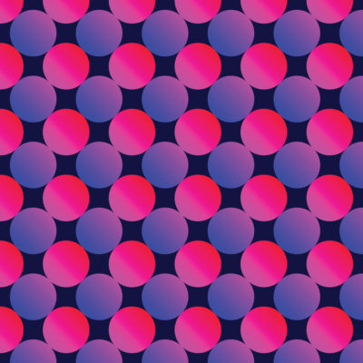 spheres gradient tiles wrapping paper
