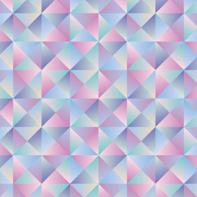prismatic gradient tiles wrapping paper