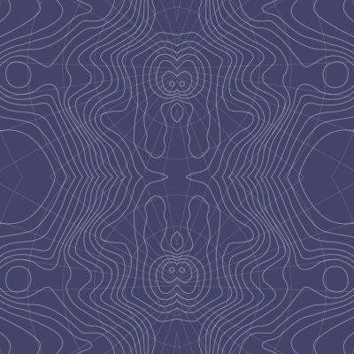 purple mosaic topographic wrapping paper