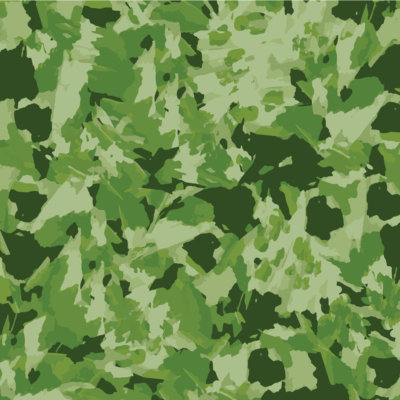variegated leaf pattern gift wrap