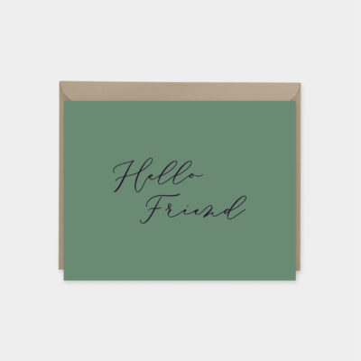 hello friend card set