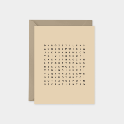 best dad ever a2 word search fathers day card