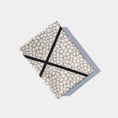 cut out paper pattern design gift wrap