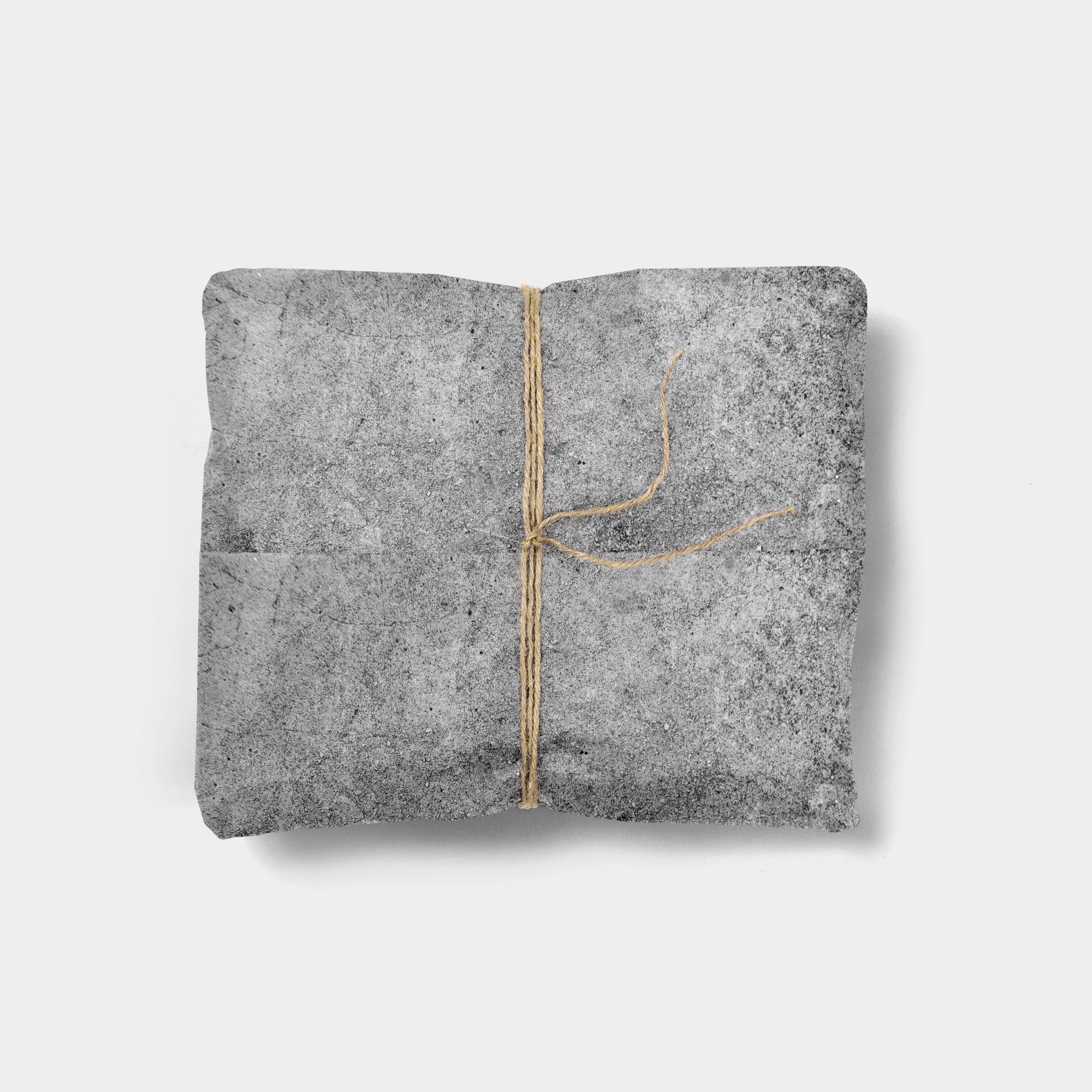 cement gift wrap