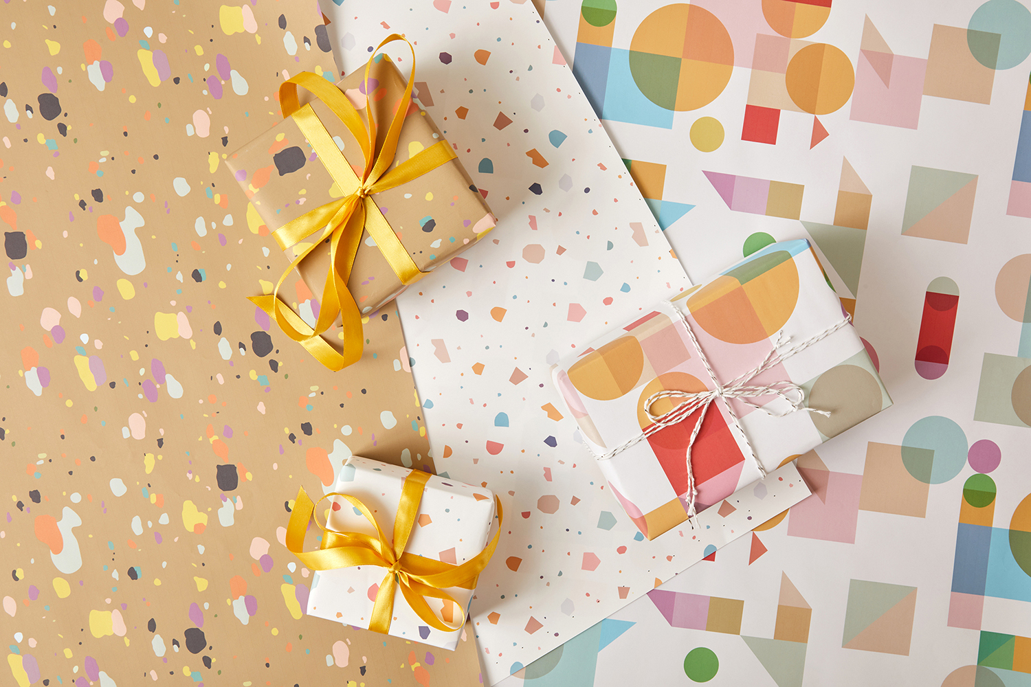 the design craft gift wrap